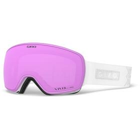 Giro Eave Maschera Donna, white velvet/vivid pink/vivid infrared